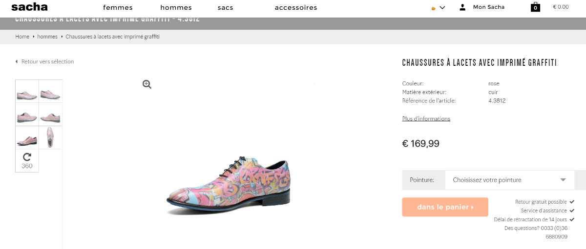 chaussure-sacha-originale
