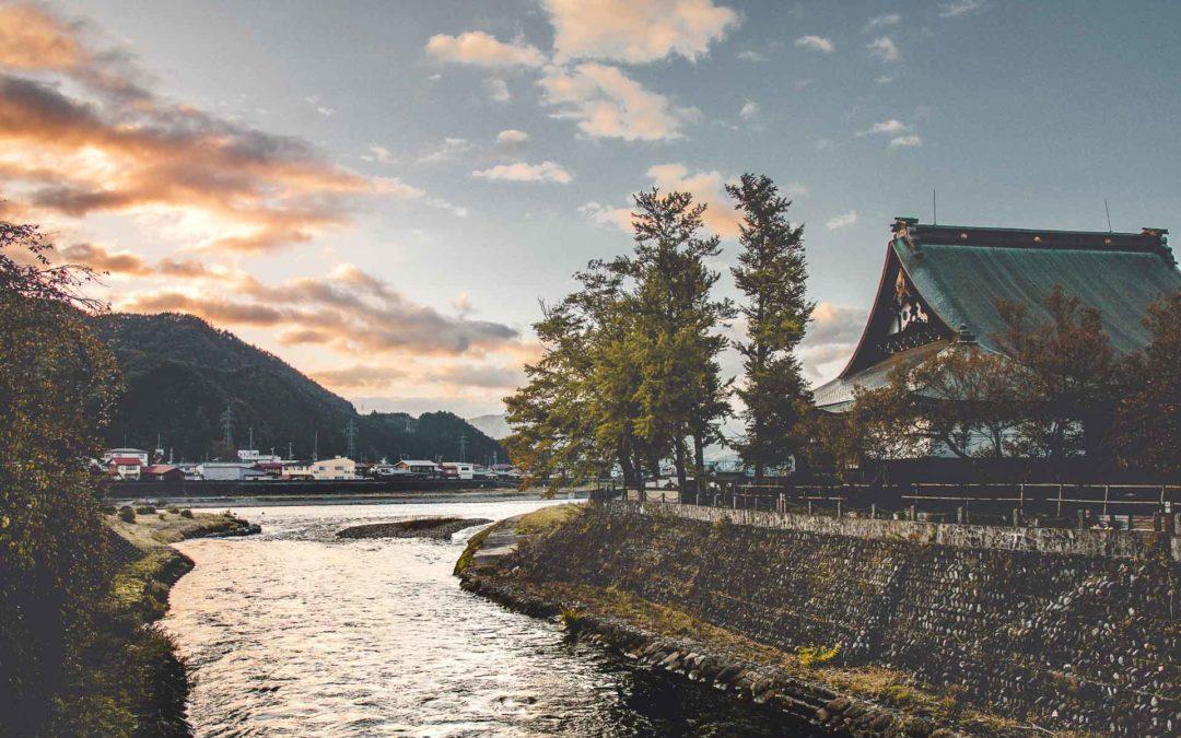 Balade à Hida Furukawa au Japon