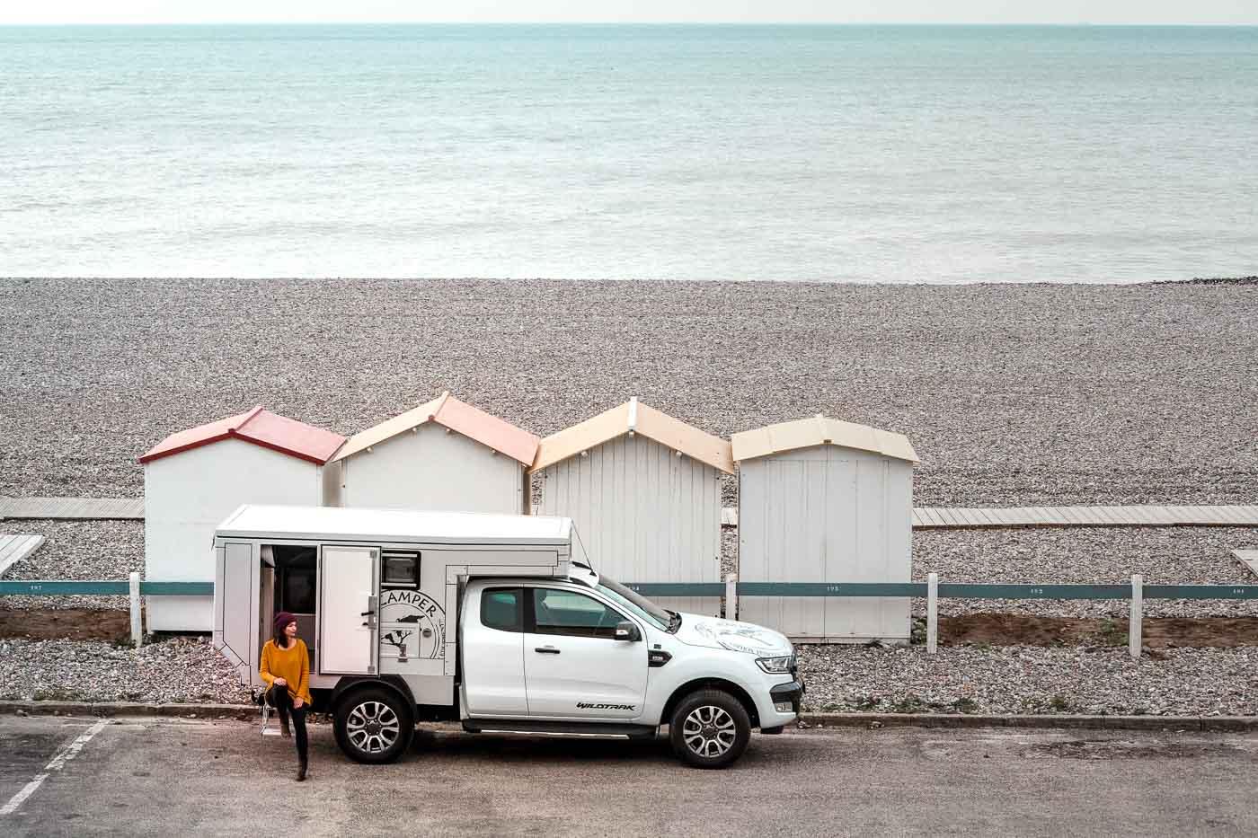 Première expérience d'un road trip en camper van