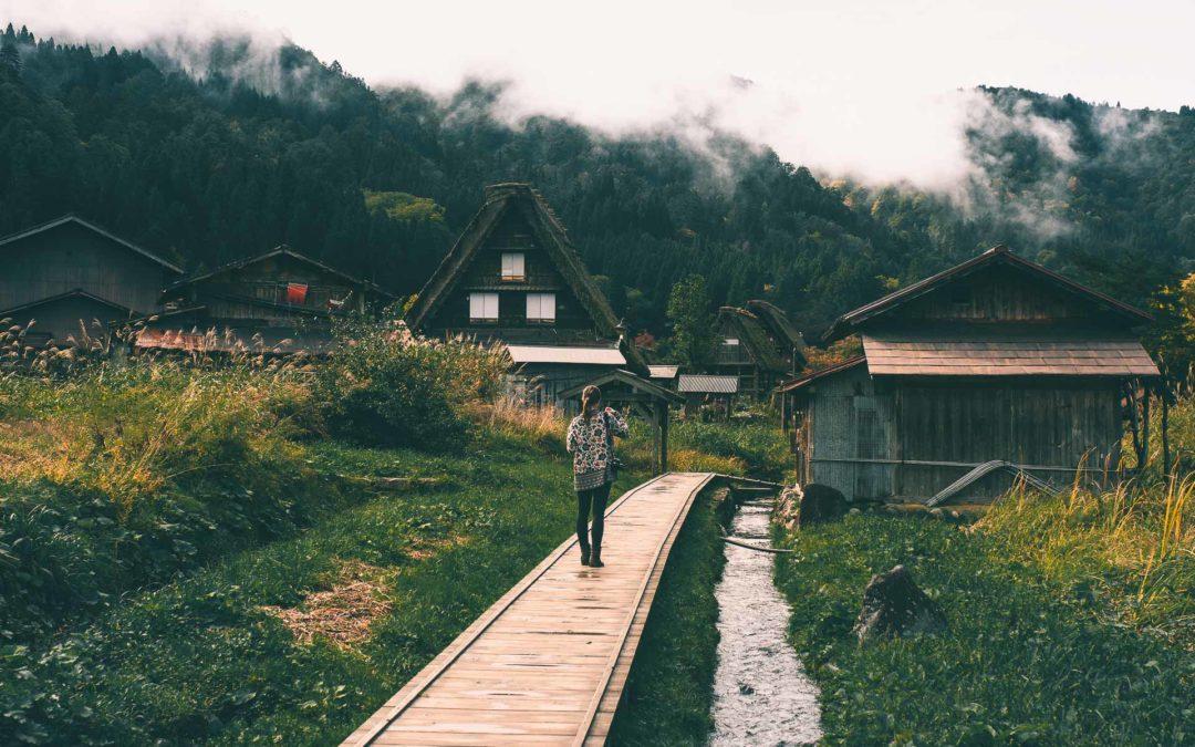 Voyage au Japon : Shirakawa Go