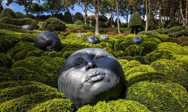 La magie des Jardins d'Etretat en Normandie