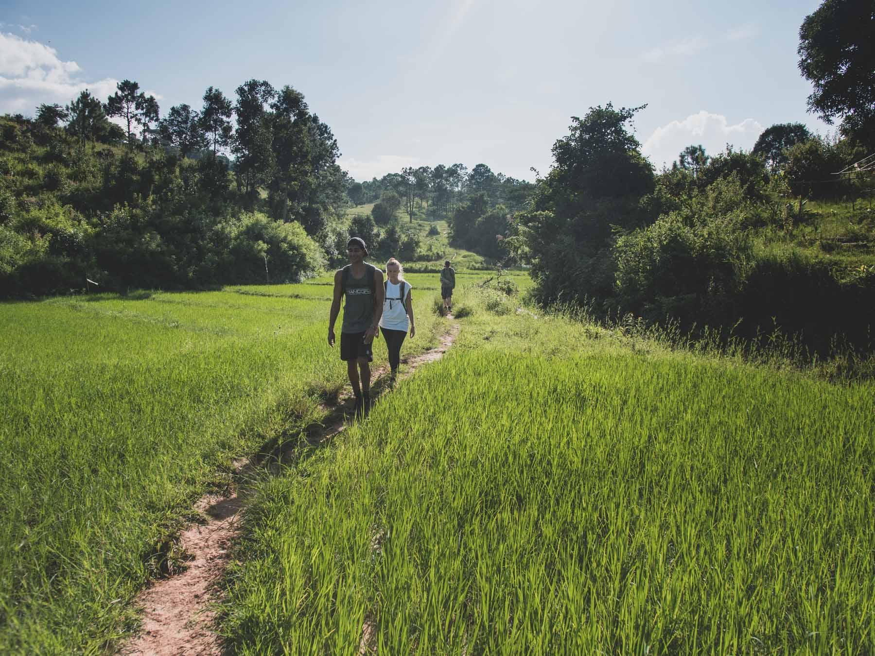 Birmanie : trek de Kalaw en passant par le lac Inle