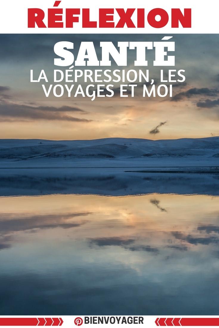 la dépression en voyage