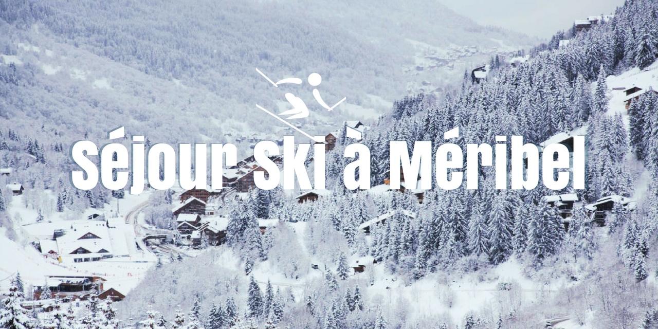 Séjour ski à deux à Méribel