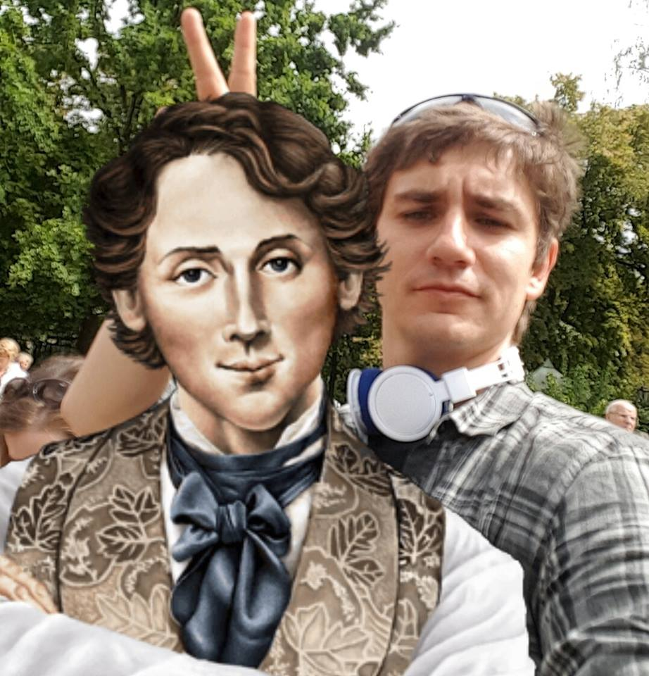 selfie avec Chopin