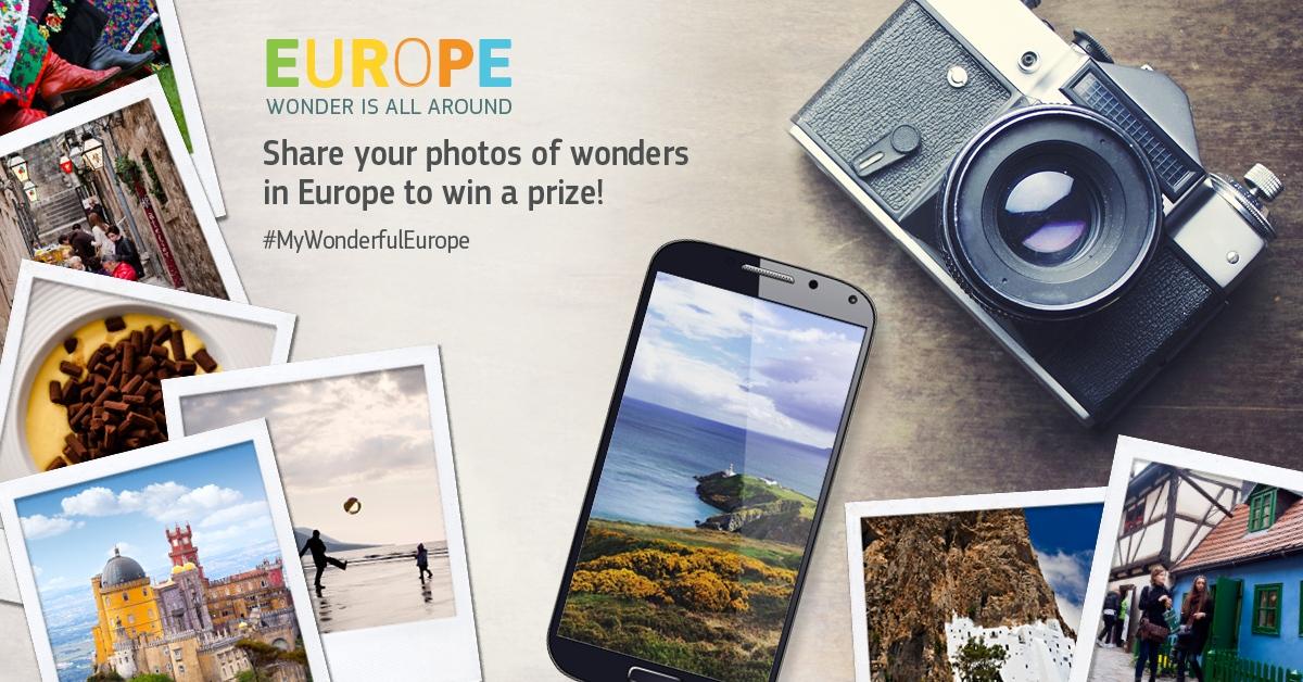 Gagnez un voyage en train à travers l'Europe avec la campagne «Europe.Wonder is all around»