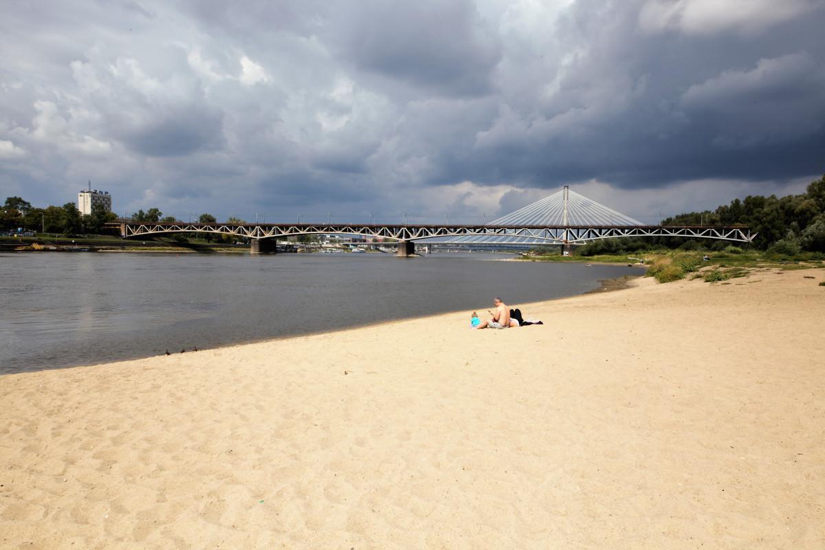 varsovie plage